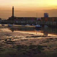 Buy canvas prints of  Margate by Graham Beerling