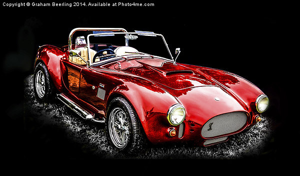 Vintage Sports Car Canvas print by Graham Beerling