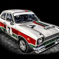 Buy canvas prints of Ford Escort Sport by Graham Beerling