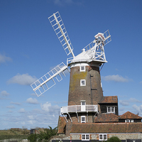 Buy canvas prints of Cley Windmill by Keith Douglas