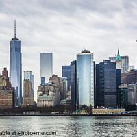 Buy canvas prints of New York Cityscape by Keith Douglas