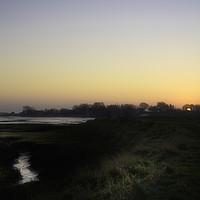 Buy canvas prints of Winter Sunrise Essex Backwaters by matthew mallett