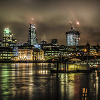 Buy canvas prints of City AM by Mark Ashley