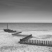Buy canvas prints of  Caister Beach by James Taylor