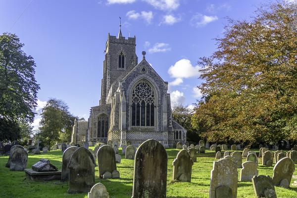 Martham Church, Norfolk Canvas Print by James Taylor