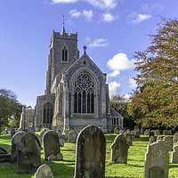 Buy canvas prints of Martham Church, Norfolk by James Taylor