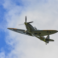 Buy canvas prints of  spitfire by nick wastie