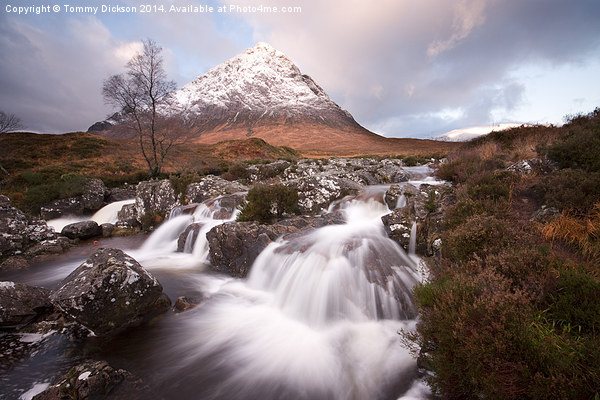 Buachaille Etive Mor. Framed Mounted Print by Tommy Dickson