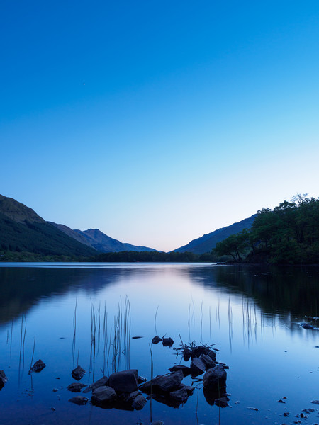 Loch Voil, The Trossachs, Scotland. Canvas print by Tommy Dickson