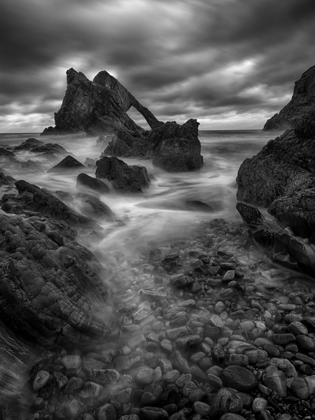 Bow Fiddle Rock Canvas print by Tommy Dickson
