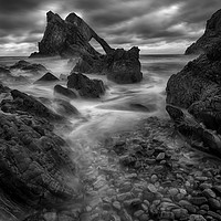 Buy canvas prints of Bow Fiddle Rock by Tommy Dickson