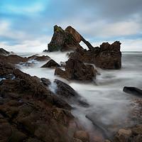 Buy canvas prints of Bow Fiddle Rock, Portnockie. by Tommy Dickson