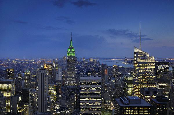Manhattan Framed Mounted Print by Mark Kelly