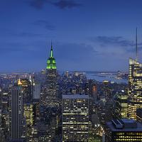 Buy canvas prints of Manhattan by Mark Kelly
