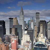 Buy canvas prints of Midtown Manhattan by Mark Kelly
