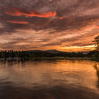 Buy canvas prints of Windermere by Simon Saunders