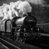 Buy canvas prints of  Steam Train by Darren Eves
