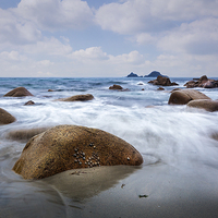 Buy canvas prints of Porth Nanven  by Mike Higginson