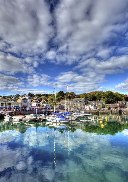 Padstow Harbour Canvas print by Mike Gorton