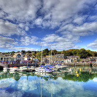 Buy canvas prints of Padstow Harbour by Mike Gorton