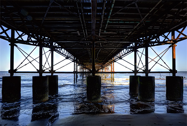 Support Cromer Pier Canvas print by Mike Gorton