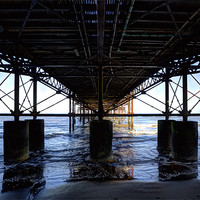 Buy canvas prints of Support Cromer Pier by Mike Gorton