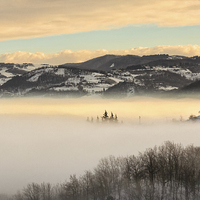 Buy canvas prints of A sea of fog by Guido Parmiggiani