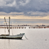 Buy canvas prints of Boat  by Guido Parmiggiani