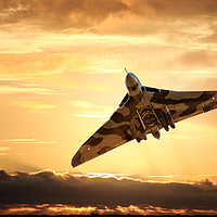 Buy canvas prints of Vulcan bomber by Guido Parmiggiani