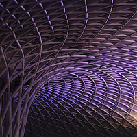 Buy canvas prints of Kings Cross rail station by Ceri Jones