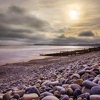 Buy canvas prints of Amroth Beach by Ceri Jones