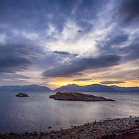 Buy canvas prints of Loch Leven Twilight by Ceri Jones