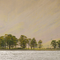Buy canvas prints of Buttermere by Julian Mitchell
