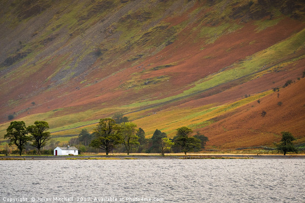 Buttermere Canvas print by Julian Mitchell