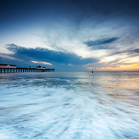 Buy canvas prints of Southwold Pier by Julian Mitchell