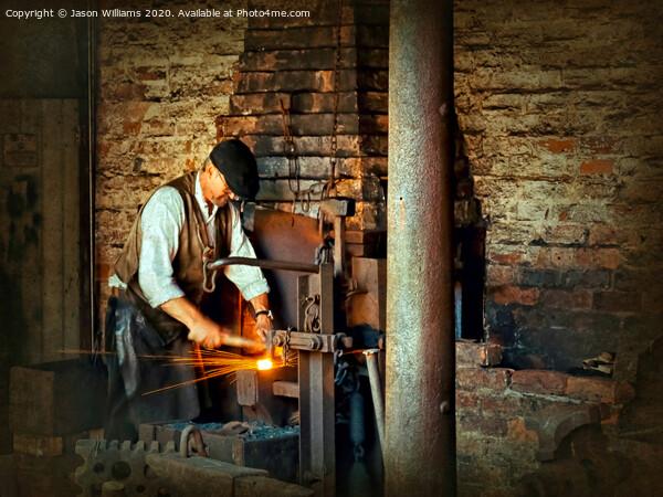Blacksmith Print by Jason Williams
