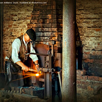 Buy canvas prints of Blacksmith by Jason Williams