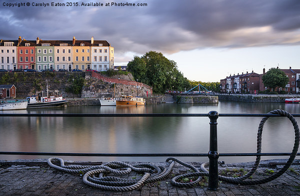 Redcliffe Revealed, Bristol Canvas Print by Carolyn Eaton