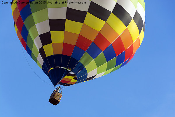 Up, Up and Away Print by Carolyn Eaton