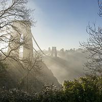 Buy canvas prints of Clifton Suspension Bridge by Carolyn Eaton
