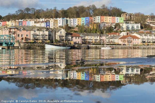 Bristol Reflections Canvas print by Carolyn Eaton