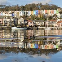 Buy canvas prints of Bristol Reflections by Carolyn Eaton