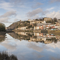 Buy canvas prints of Bristol Reflections by Carolyn Eaton
