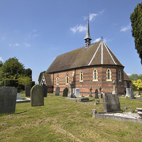 Buy canvas prints of Village Church by Alan Tunnicliffe