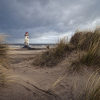 Buy canvas prints of  Talacre Lighthouse by Alan Tunnicliffe
