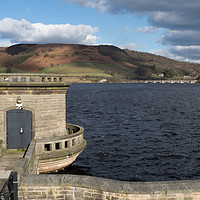 Buy canvas prints of Ladybower reservoir by Alan Tunnicliffe