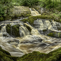Buy canvas prints of Rival Falls by Alan Tunnicliffe