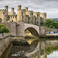 Buy canvas prints of Conwy Castle by Alan Tunnicliffe