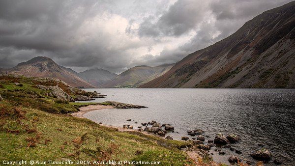 Wastwater Canvas print by Alan Tunnicliffe