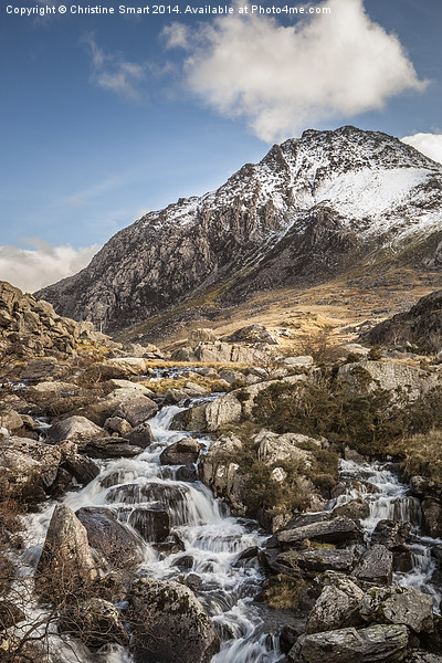 All Paths Lead to Tryfan Canvas print by Christine Smart